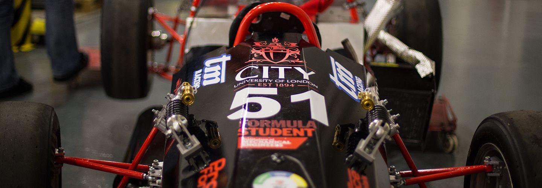 City university formula racing car