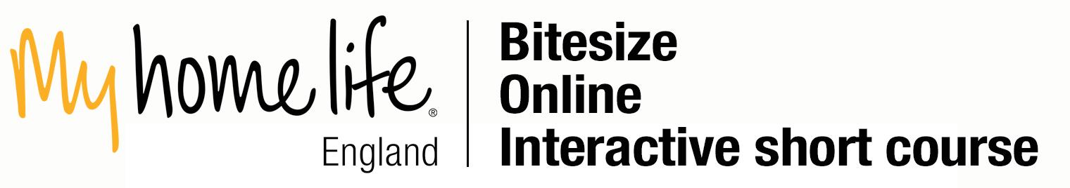 My Home Live Bitesize Online intaraction logo