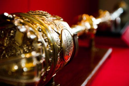 A gold sceptre