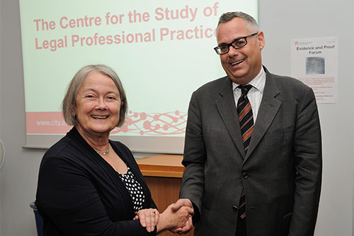 The Centre for the Study of Legal Professional Practice is opened by Baroness Hale of Richmond