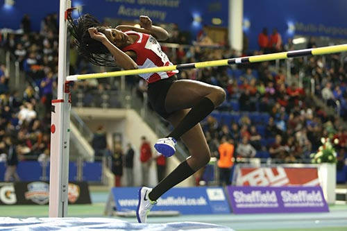 Georgia-Nwawulor High Jump