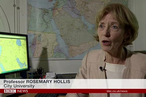 Rosemary Hollis BBC news