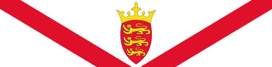 Top portion of the Jersey flag