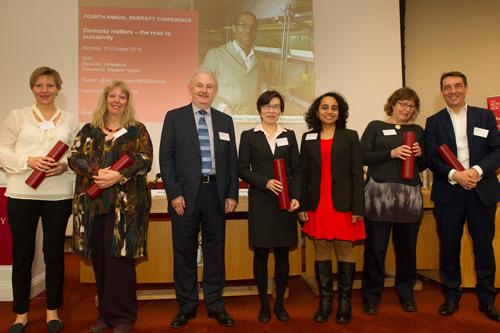 City academics win  runner-up award for Royal Society's Athena Prize