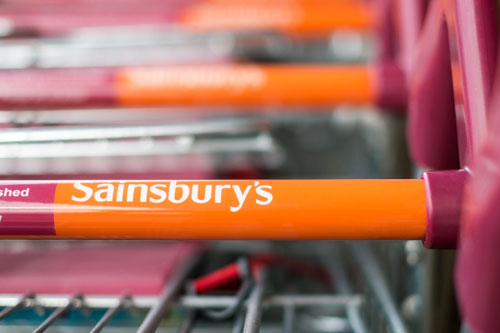 Sainsbury's shopping trolley