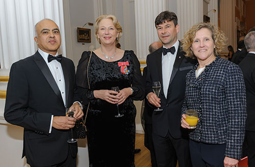 Guests at the City Rector's Dinner