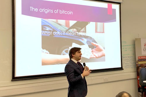 Cryptocurrencies panel discussion at City, University of London