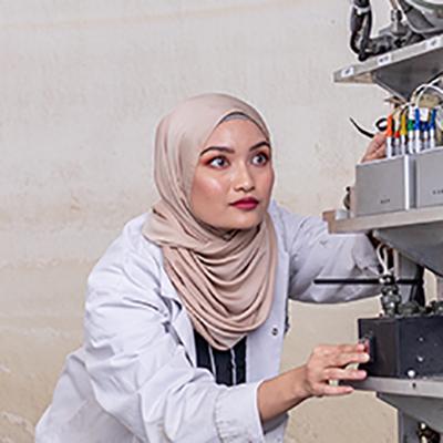 Hazirah Halim is a BEng Civil Engineering student