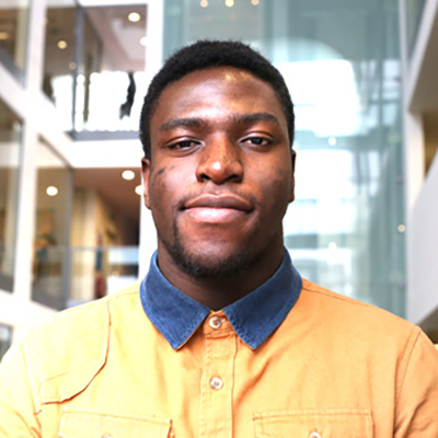 Jonathan Akinrele is a BSc Mathematics and Finance student