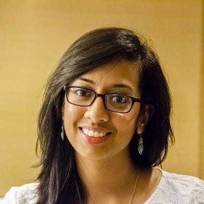 Sreya Panuganti smiling