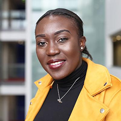 Juliet Adu-Gyamfi smiling