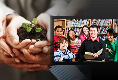 Community volunteering image