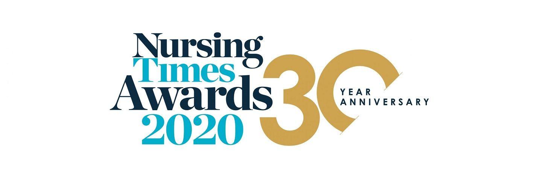 Nursing Times Awards 2020 banner image