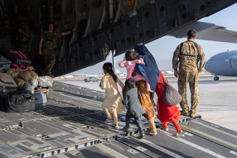 Afghanistan evacuation