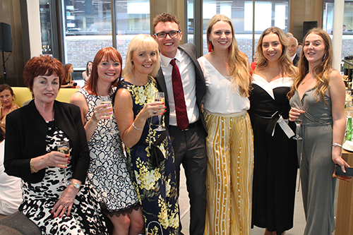 Journalism students celebrate graduation 2017