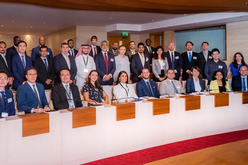 Image of Cass EMBA 2017 cohort