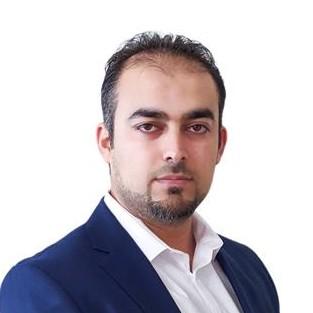 portrait of Mahmoud Khader
