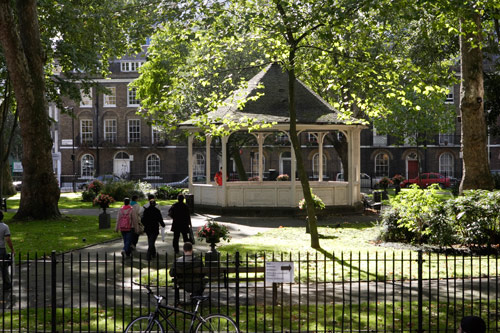 Northampton Square bandstand