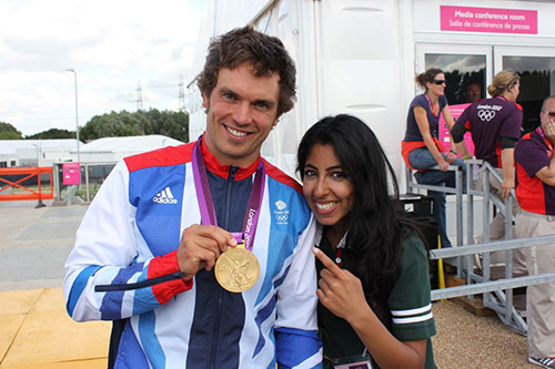 Manleen and Tim Baillie