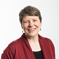portrait of Professor Sarah Stallebrass
