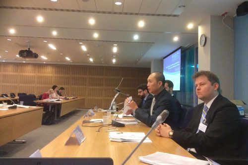 Professor Jason Chuah, chaired a roundtable discussion held at the International Maritime Organisation's headquarters