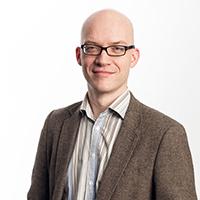 portrait of Dr David Corney