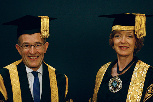 Lord Mayor among those awarded honorary doctorates by City University London