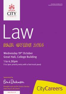 Law Fair Guide 2016