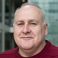 School of Health Sciences Associate Dean Dr Dave Flinton