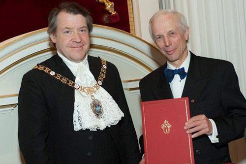 Cass Professor Charles Baden-Fuller receives the Chancellor's Award