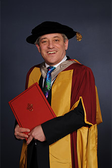 Rt Hon John Bercow full portait