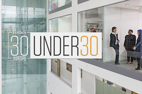 Rising stars named in Forbes 30 under 30