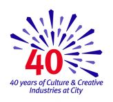 Celebrating 40 years of Cultural and Creative Industries at City University London