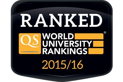 Ranked QS World University Rankings 2015/16