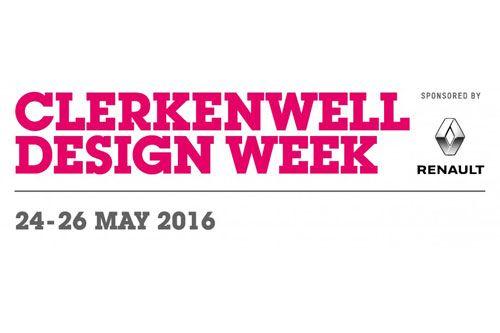 Clerkenwell Design Week sponsored by Renault 24-26 May 2016
