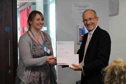 Professor Sir Paul Curran award