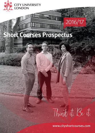 Short Courses prospectus cover