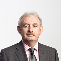 portrait of Professor Ken Grattan OBE FREng