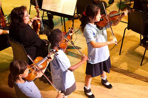 Children violins