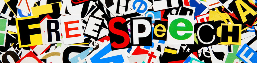 Free speech words