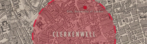 Clerkenwell, City, University of London