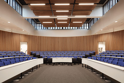 One of the new lecture theatres at City