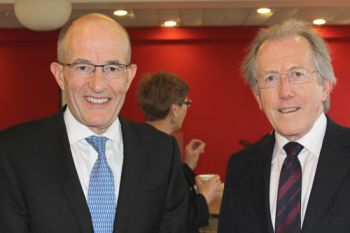 Judge Cryan and Sir Paul Curran