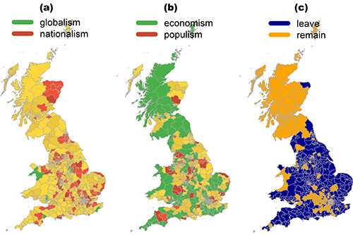 Brexit debate on Twitter driven by economic and nationalist issues, not populism, study shows