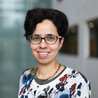 portrait of Dr Ahalya Subramanian