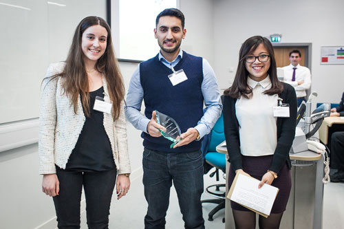 Volunteering awards for students at City 2015