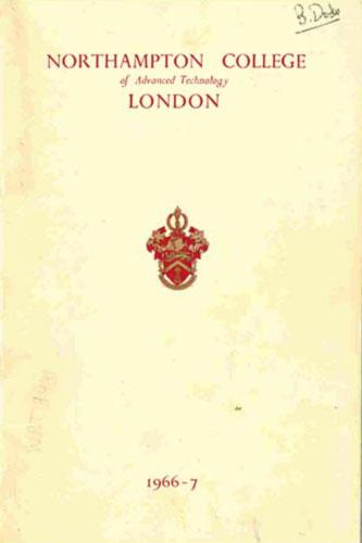 City Prospectus Cover 1966