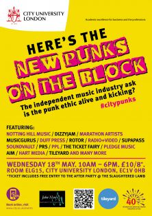 New Punks on the Block poster