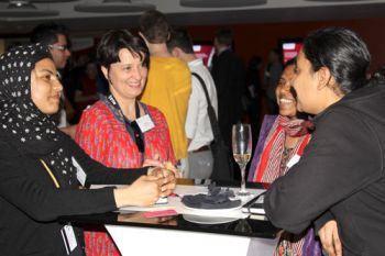 Guests at a Clerkenwell Design Week 2016 reception