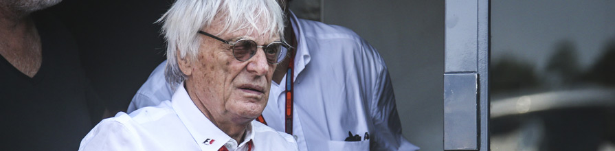 Bernie Ecclestone at Monza Grand prix, Italy, 3 September 2016. Formula1.